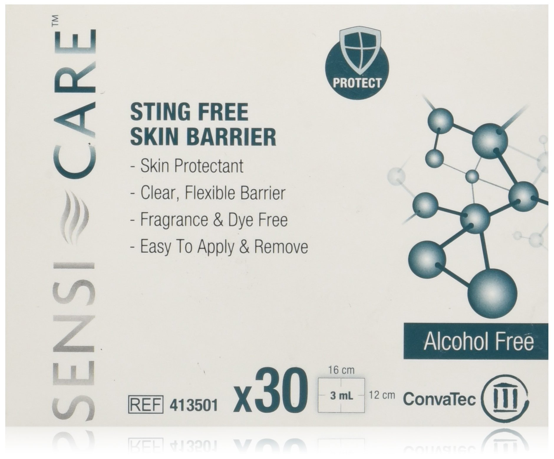 SENSI-CARE Sting Free Barrier Wipe, 30PK by ConvaTec (Image #1)