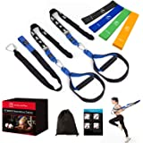 FITINDEX Bodyweight Resistance Trainer Kit, Home Training Straps, Fitness Resistance Trainer with Anchor Point and…