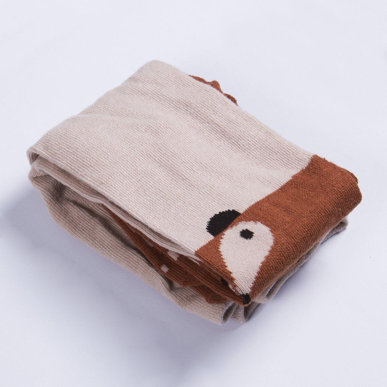 WangsCanis Baby M/ädchen Baumwoll Fuchs Gedruckt Strumpfhosen Warm Krabbelstrumpfhose Socken Leggings Strumpf