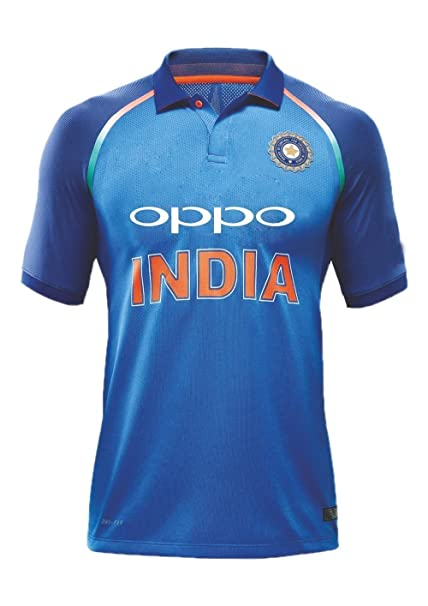 9b410698efa KD Team India ODI Cricket Supporter Jersey 2017-2018 - Kids to Adult   Amazon.co.uk  Sports   Outdoors