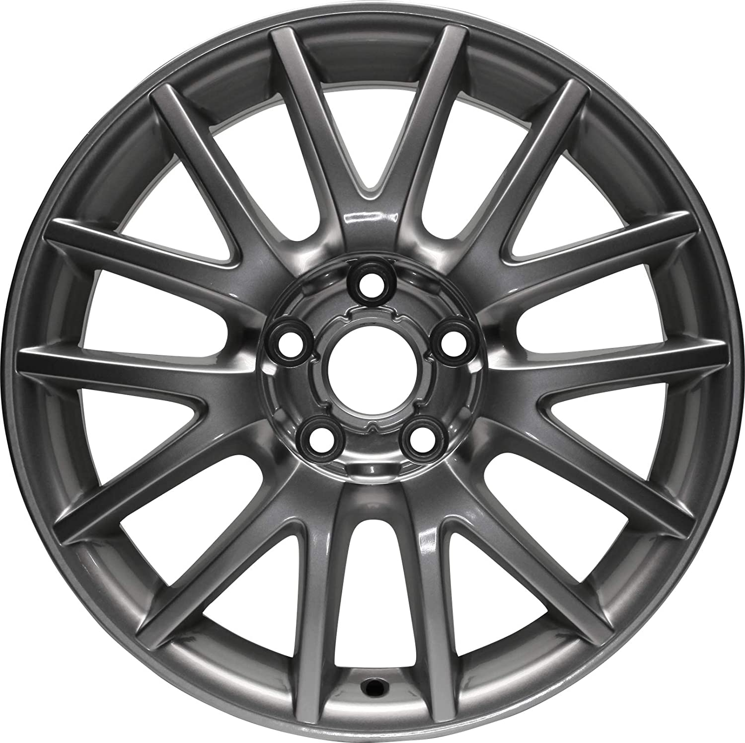Amazon Com Partsynergy Replacement For New Replica Aluminum Alloy Wheel Rim 17 Inch Fits 06 14 Volkswagen Jetta 14 Spokes 5 108mm Automotive