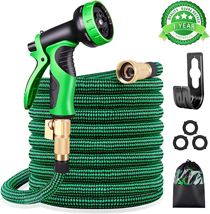 Top 9 Kurtvana 50 Foot Expandable Garden Hose