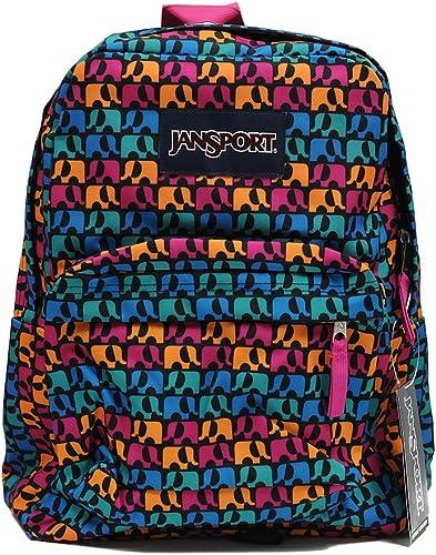 JanSport Classic Superbreak Backpack Black Ele Fancy