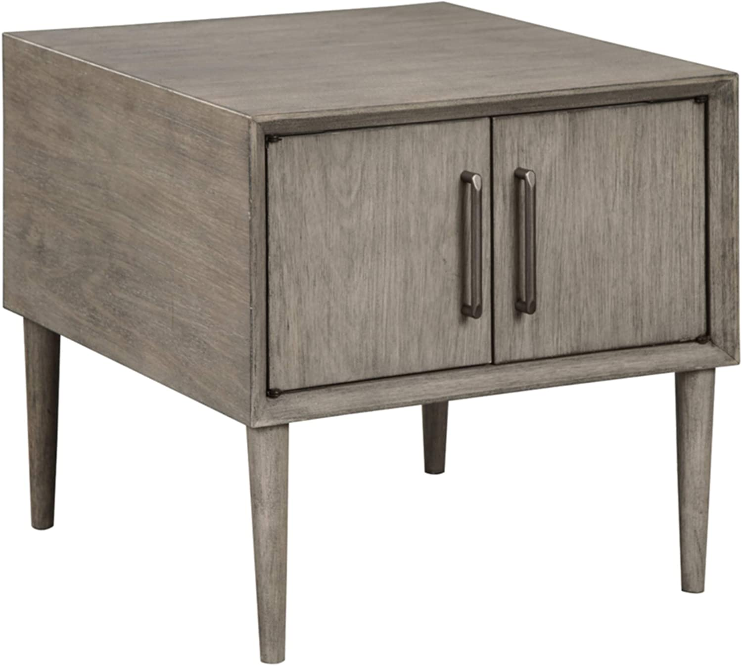 Signature Design by Ashley - Asterson End Table, Gray