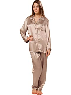 03fd6dfad OSCAR ROSSA Women s Luxury Silk Sleepwear 100% Silk Pajamas Set at ...