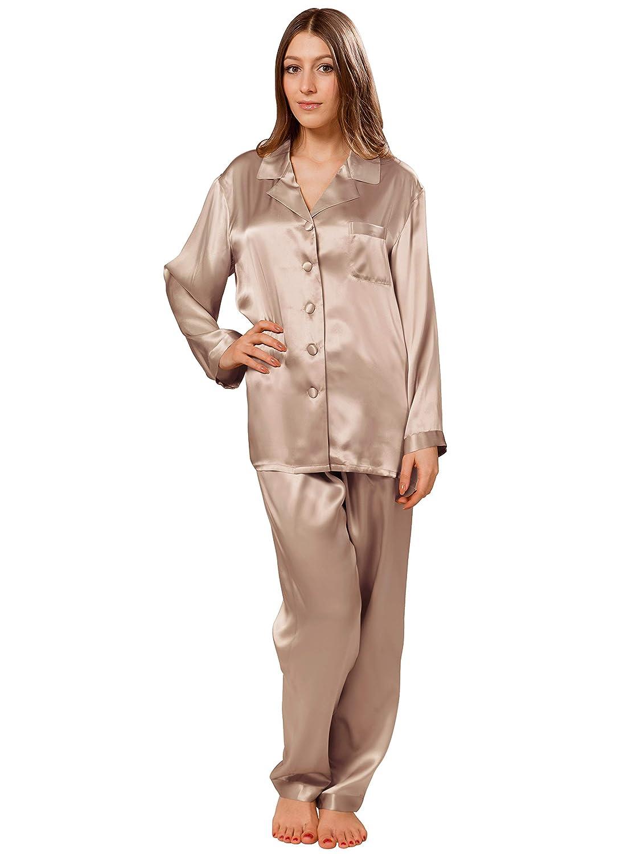 bba45fae71 ElleSilk Pajamas for Women