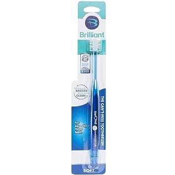 Amazon.com: Cepillo de dientes suave brillante para adultos ...