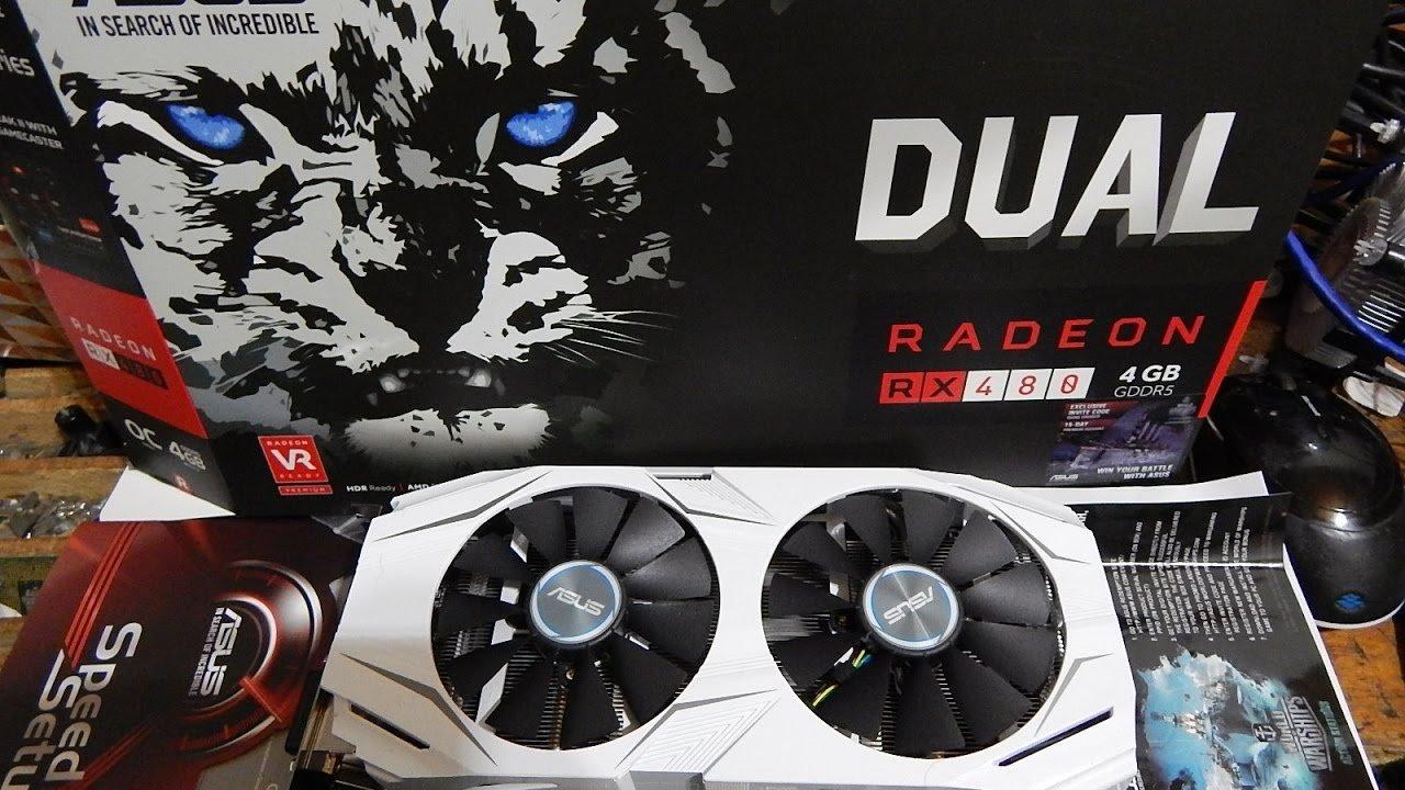 ASUS DUAL-RX480-4G Radeon RX 480 4GB GDDR5 - Tarjeta gráfica ...