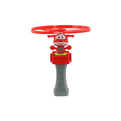 Super Wings - High Flying Jett | Toy Figure & Launcher: Toys & Games