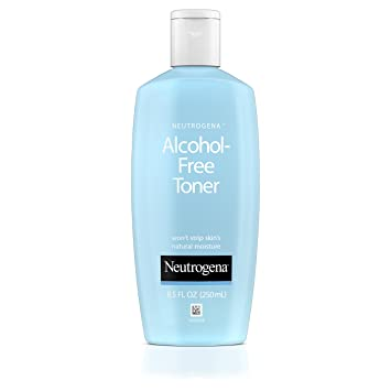 Neutrogena Oil- and Alcohol-Free Facial Toner, with Hypoallergenic Formula,
