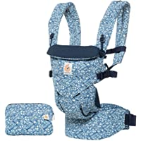 Ergobaby Omni 360 All-Position Baby Carrier for Newborn to Toddler with Lumbar Support (7-45 Pounds), Batik Indigo