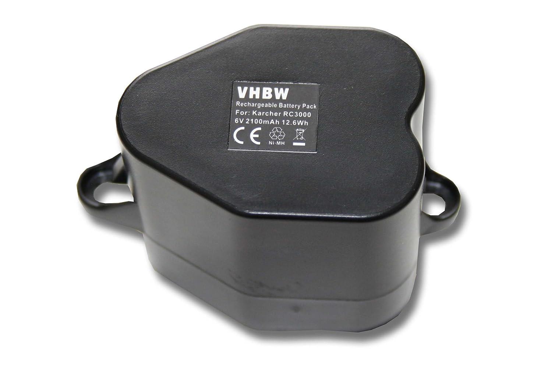vhbw 2x Baterías Ni-MH 2000mAh (6V) para robot aspirador Siemens ...
