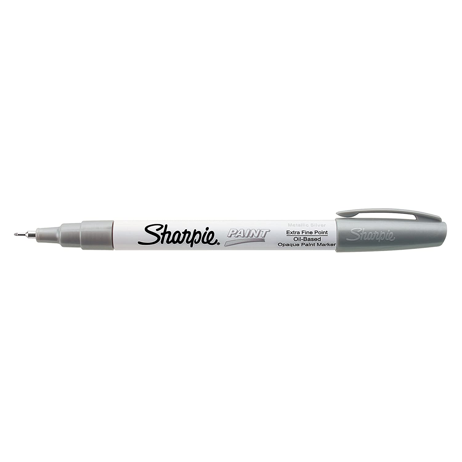 Sharpie Oil-Based Paint Marker, Extra Fine Point, Black, 1 Count - Great for Rock Painting (35526) Cell Distributors
