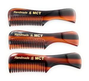 GBS Pocket Beard & Mustache Comb 3 pack - Small (3