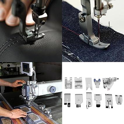 Gugutogo 11 unids/set Multifuncional Máquina de Coser Pies Pie Prensatelas Accesorios de Repuesto Herramientas