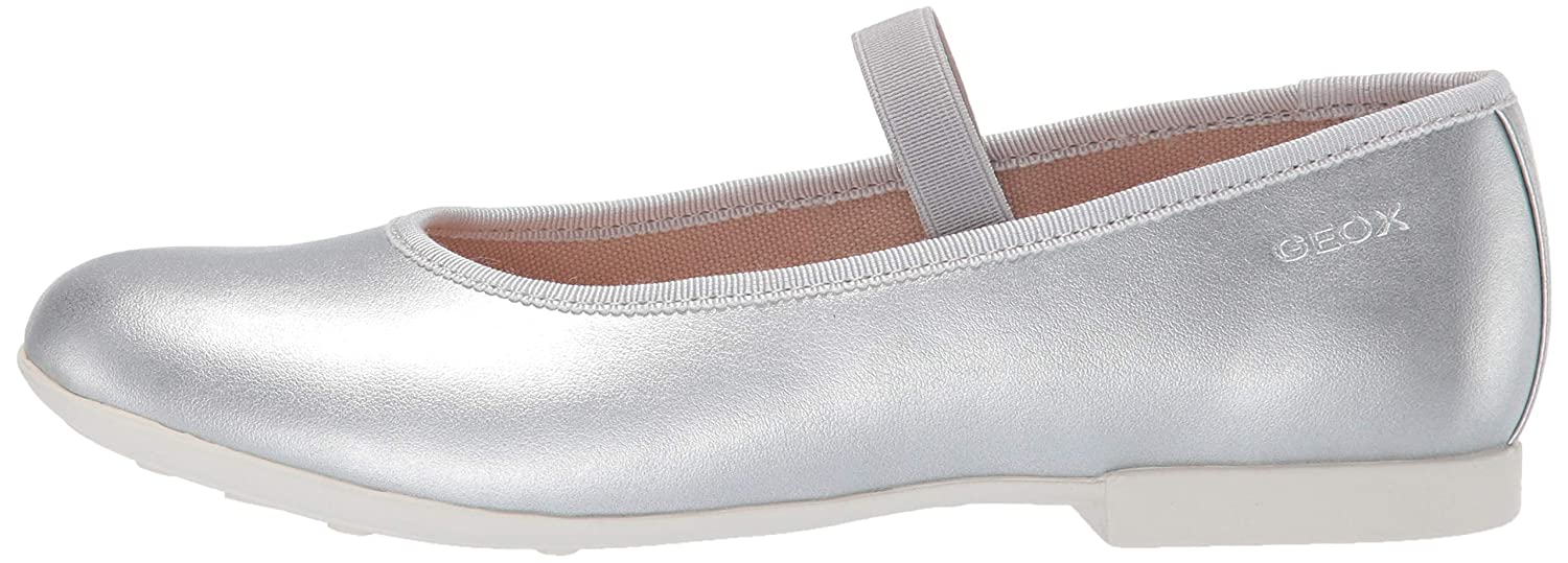 Geox Kids Plie 53 Ballet Flat with Elastic Strap Mary Jane