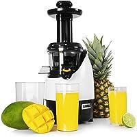 Duronic JE2 Estrattore a freddo di frutta e verdura 220 W - 80 giri/minuto - Senza BPA - slow juicer estrattore di succo a freddo per succhi fatti in casa