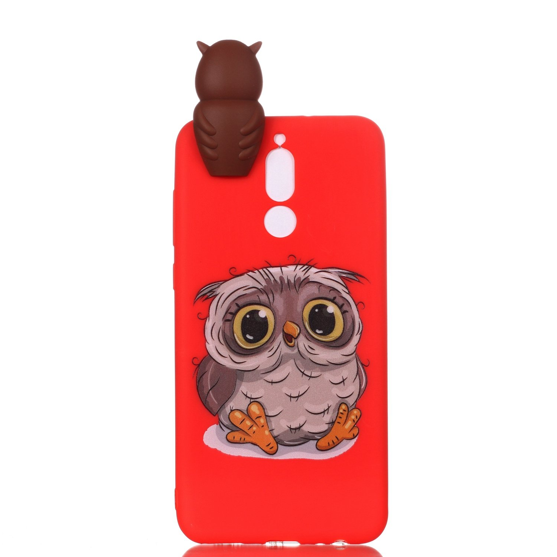 Rosa Huawei Mate 10 Lite Handyh/ülle HUDDU Transparente Weihnachten Schutzh/ülle TPU Silikon Cover D/ünn Protective Case 3D Karikatur Muster Christmas Huawei Mate 10 Lite Xmas H/ülle Hund