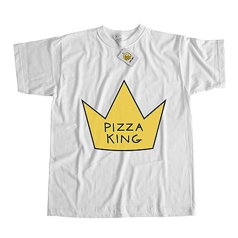 Pizza King Shirt Pizza Shirt King Shirt Funny Pizza Shirt Pizza Love First  Bite: Amazon.de: Bekleidung