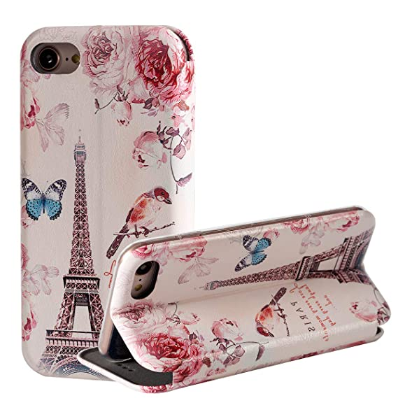 Amazon.com: Eiffel - Funda para iPhone 7, iPhone 8, diseño ...