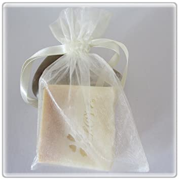 Amazon 30 Ivory Wedding Organza Favor Gift Bags 4x6 Inch 024