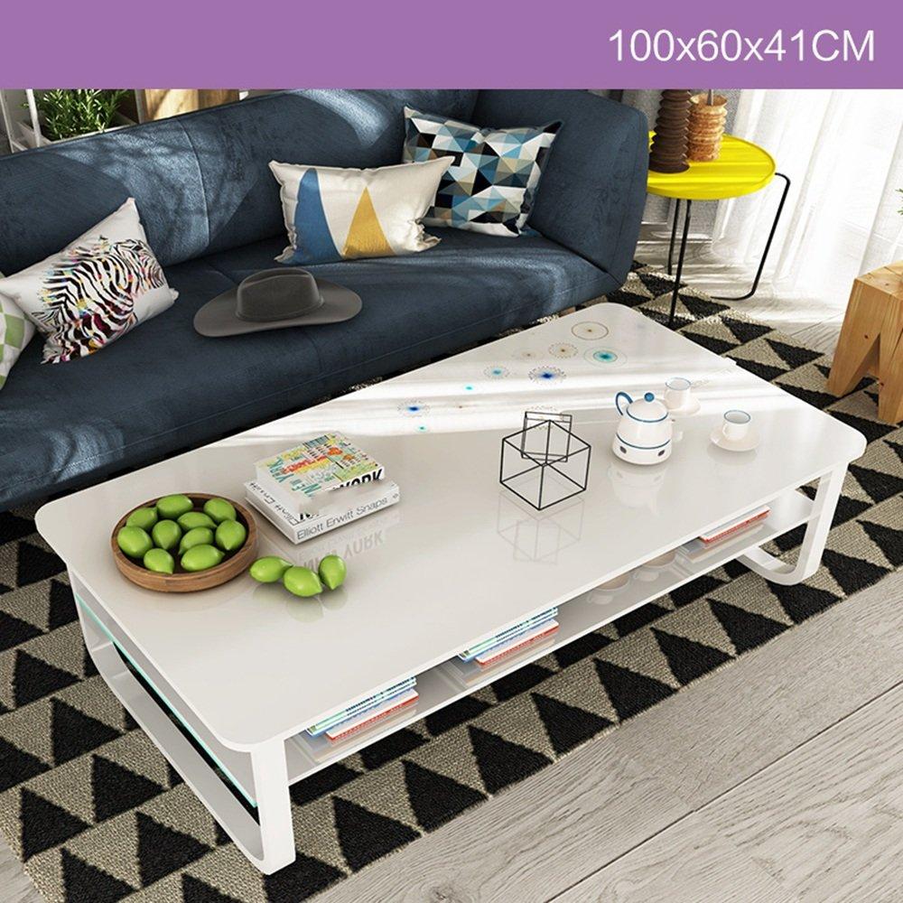 ZZHF コーヒーテーブルミニマリストモダンミニコーヒーテーブルシンプルなクリエイティブなリビングルームオフィスローテーブル4色オプションのオプション デスク ( 色 : A ) B07C4PQ79L A A