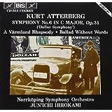 アッテルベルイ:交響曲 第6番 ハ長調 作品31 「1万ドル交響曲」 (Atterberg: Symphony No.6, etc.) [Import]