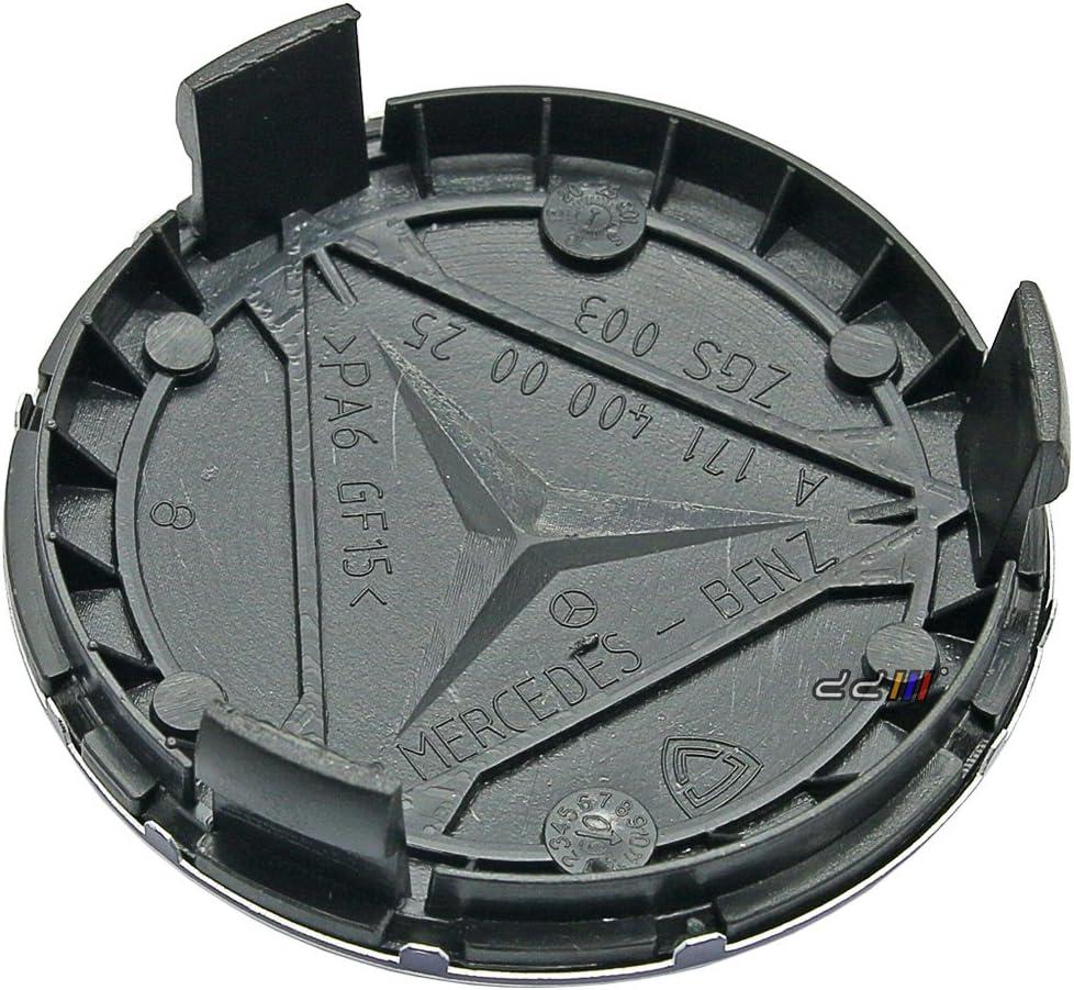 4/x Mercedes Benz Affalterbach emblema Logo insignia Hub rueda Rim centro tap/ón 75/mm juego de 4/para a b c cl CLC CLK Cla CLS E G GL GLA GLS GLC GLE GLK M R S SL SLK CLASS
