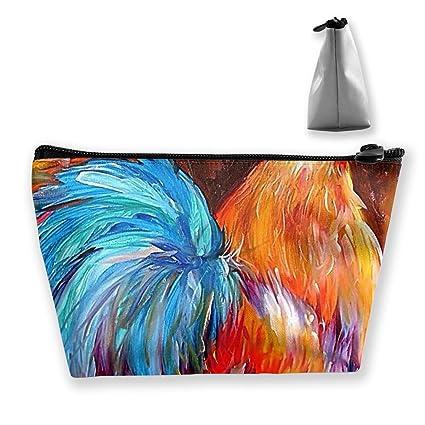 Gallo Pintura Art Pencil Case Bag Zipper Bag Coin Bag ...