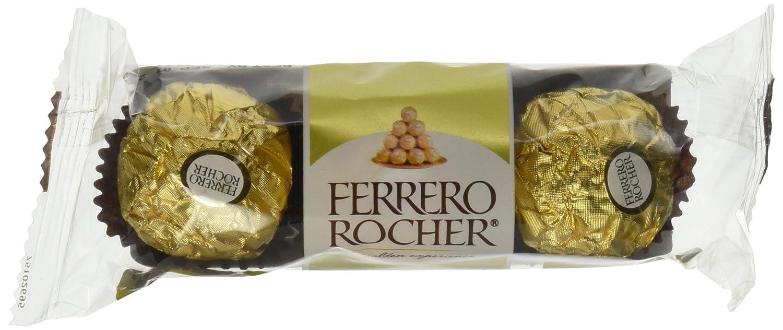 Amazon.com : Ferrero Rocher Fine Hazelnut Chocolates 12 ...