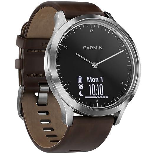Garmin Vivomove HR Premium Monitor Actividad, Plata, Sin ...