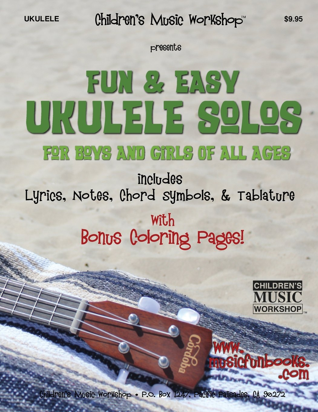 Download Fun & Easy Ukulele Solos: for Boys and Girls of All Ages pdf