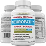 Neuropathy Support Supplement - Nerve Pain Support with 600 mg Alpha Lipoic Acid Daily Dose - Peripheral Neuropathy - Feet Ha