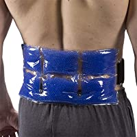 TheraPearl Back Wrap, Reusable Hot Cold Therapy Pack