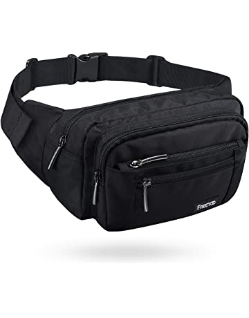 b64cbbe520a FREETOO Waist Pack Bag Fanny Pack for Men Women Hip Bum Bag with Adjustable  Strap for Outdoors