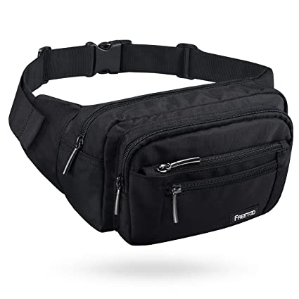 FREETOO Waist Pack Bag Fanny Pack for Men Women Hip Bum Bag with Adjustable  Strap for Outdoors f5bd6e8e7c541