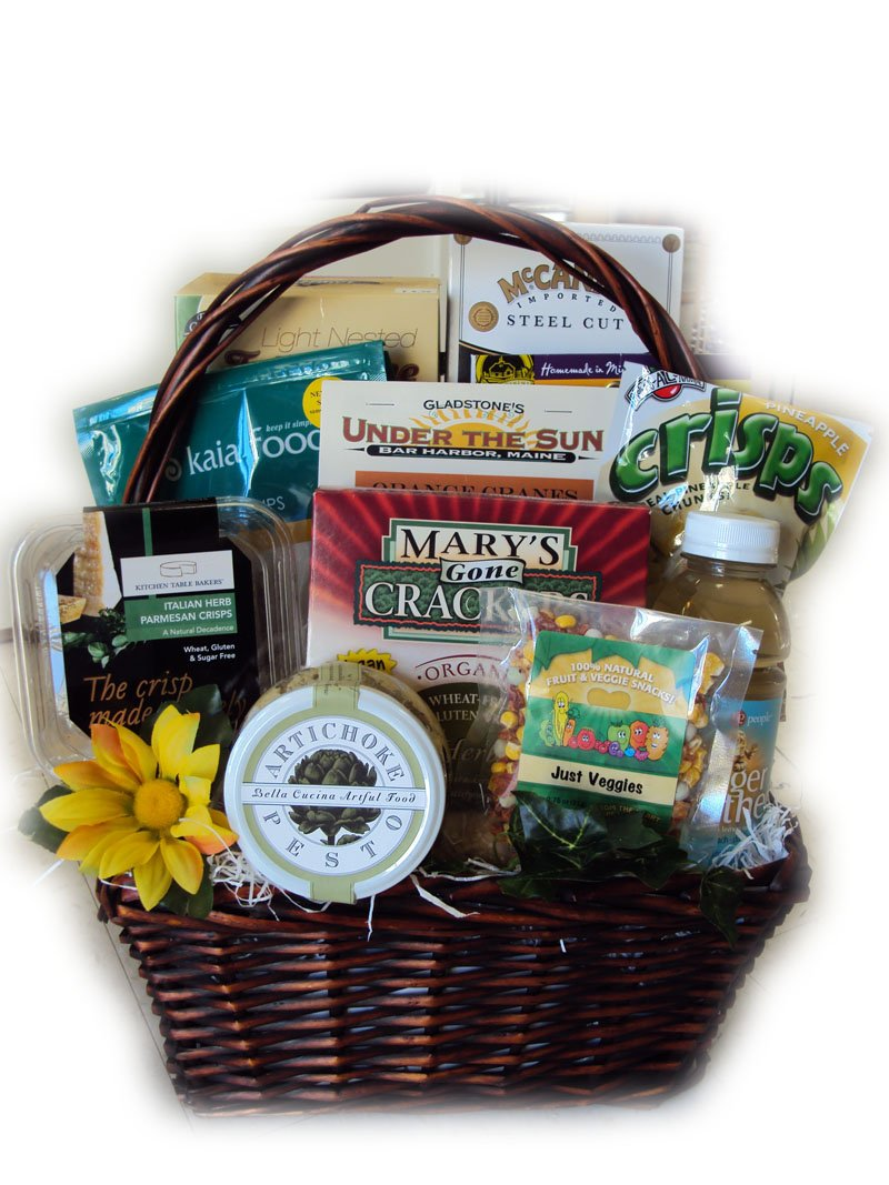 Healthy Pregnancy Gift Basket by Well Baskets