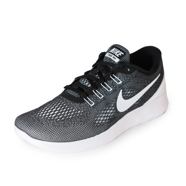 NIKE Men's Free RN Running Shoe B07146887B 9 B(M) US|Black/White-Black