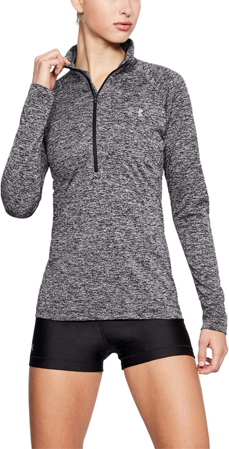 Under Armour Women's Tech Twist ½ Zip Long Sleeve Pullover : Clothing