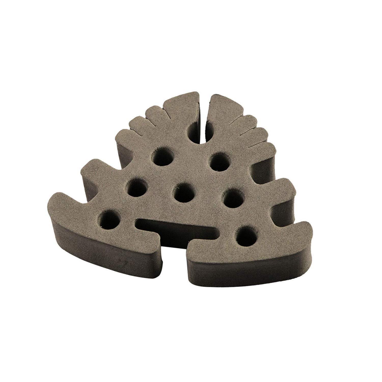 M MAXIMUMCATCH Maxcatch Soft Foam//Bamboo Wood Tool Caddy Fly Tying Tool Station