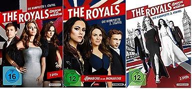 The Royals Staffel 1+2+3 (1-3) DVD Set