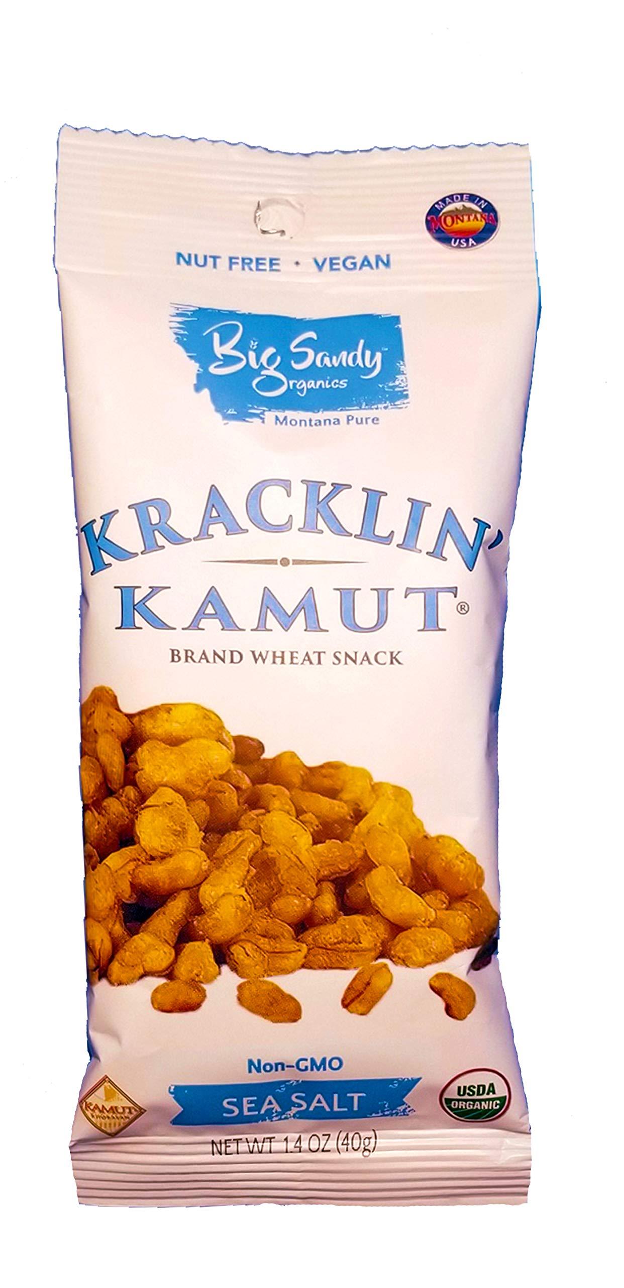 Organic Hand Roasted Ancient KAMUT Grain| Strangely Addicting | Nut Free | Vegan| (24 pack)