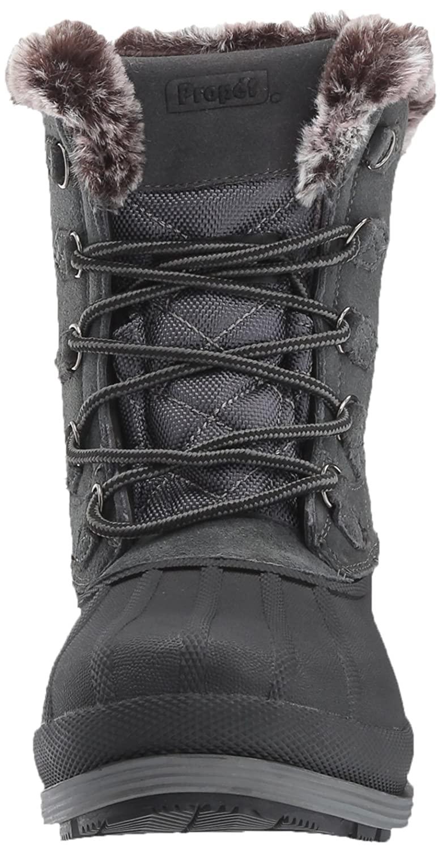 Propet Women's Lumi Tall Lace Snow US|Grey Boot B01N9RQA20 7.5 4E US|Grey Snow 794770