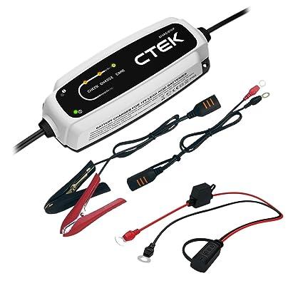Ctek CT5 Start Stop 12 V 3,8 a batería Cargador de Coche ...