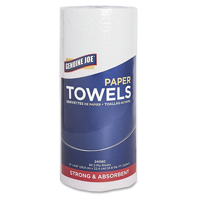 Amazon.com: Genuine Joe 2-Ply Household Roll Paper Towels: Industrial & Scientific
