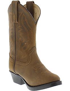 674834820d1f7 Amazon.com | Deer Stags Ranch Unisex Pull On Western Cowboy Fashion ...
