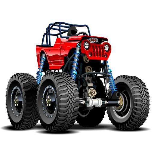 - Extreme Monster truck racing games: Speedway driving games for kids