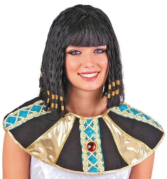 Pierro S Kostum Perucke Cleopatra Schwarz Zubehor Cleopatra Perucke