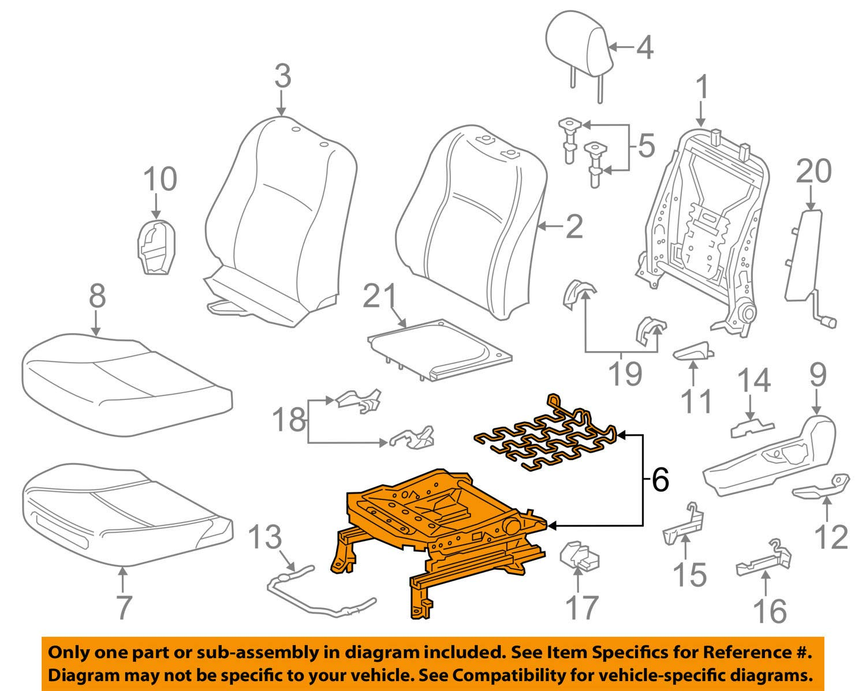 TOYOTA Genuine 71620-52222 Seat Cushion Spring