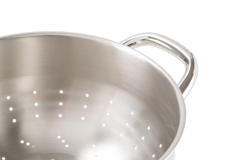 Barazzoni Chef Line colador, Acero Inoxidable 18/10, diámetro CM 22. Made in Italy.: Amazon.es: Hogar